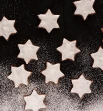Kalėdinės cinamono žvaigždutės