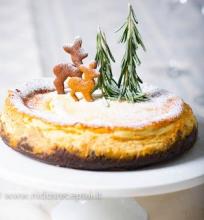 Sūrio pyragas su marcipanais