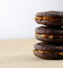 Šokoladiniai sausainiai su čili ir karamele