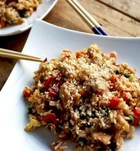 Kepti rytietiški ryžiai