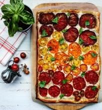 Pomidorų tarta su feta