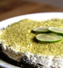Pistacijų ir sūrio pyragas