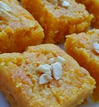 Indiškas skanėstas – Gajar Ki Burfi