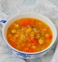 Moliūgų ir avinžirnių sriuba