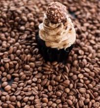 Šokoladiniai keksiukai su kava
