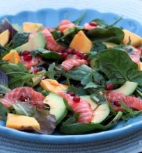 Sashimi salotos