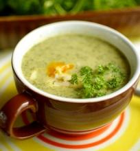 Daržinių builių sriuba