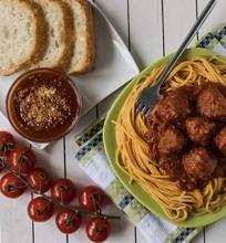 Itališki Spaghetti su Kukuliais ir Marinara Padažu