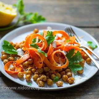 Avinžirnių ir morkų salotos