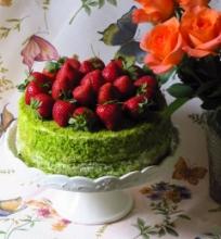 Mamos diena ir braškinis tortas