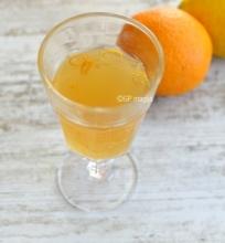 Kombucha su apelsinais