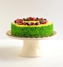 Citrinų-braškių tortas
