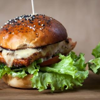 Lašišos burgeriai