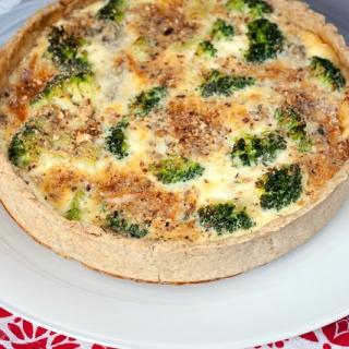 Brokolių ir gorgonzolos sūrio kišas
