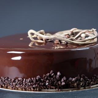 Tortas Trys šokoladai