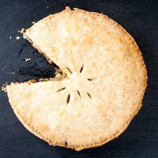 Vištienos ir porų pyragas (tartas)