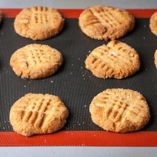 Super skanūs žemės riešutų sausainiai