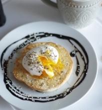 Virtas kiaušinis pusryčiams