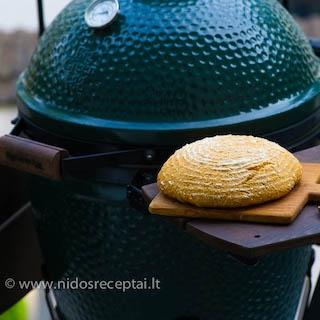 Kukurūzų miltų duona