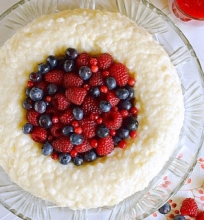 Viktorijos ryžių pudingas