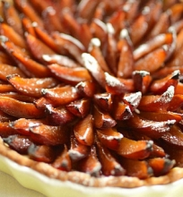 Vengrinių slyvų pyragas