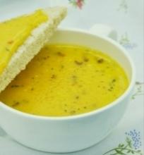 Lydytas sūris iš varškės