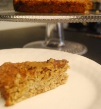Avižinis pyragas su riešutų sviestu