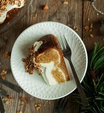 Morkų pyrago sūrio tortas