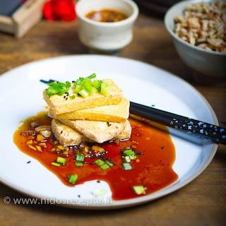 Tofu sojų padaže