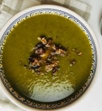 Špinatų moliūgų sriuba