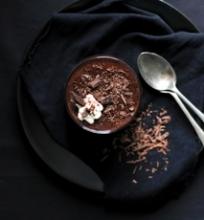 Šokoladinis ryžių pudingas