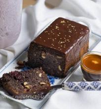 Aguonų pyragas su šokoladu
