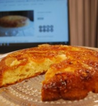 Apverstas pyragas su kinkanais