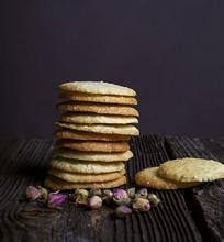 Marokietiški sausainiai su sezamo sėklom