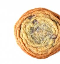 _Padaužyti_ sausainiai su šokolado gabaliukais