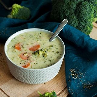 Daržovių ir sūrio sriuba