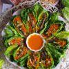 Spalvingas salotų užkandis