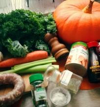 Soti daržovių sriuba