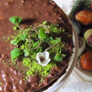 Migdolinis tortas su Daim šokoladu