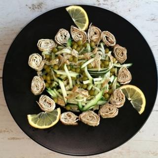 Labai lengvos ir žalios salotos