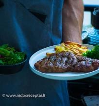 Kaip iškepti steiką