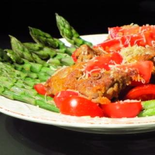 Smidrų ir pomidorų salotos