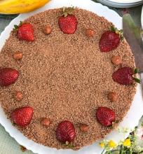 Tortas su kama miltais