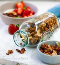 Grikių granola
