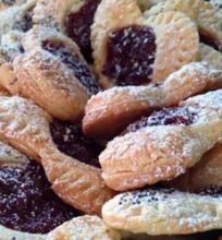 Sausainiai širdelės su įdaru