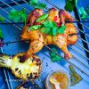 Viščiukas su ananasais