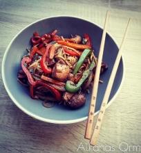 Vištienos wok'as