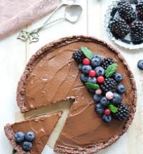 Šokoladinė avokadų tarta