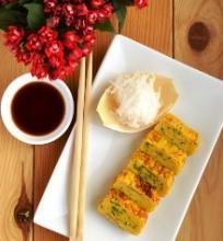 """Japoniškas omletas """"Tamagoyaki"""""""