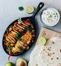 Meksikietiška vištienos Fajita